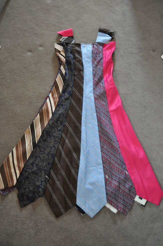 Resultado de imagem para skirt made from ties