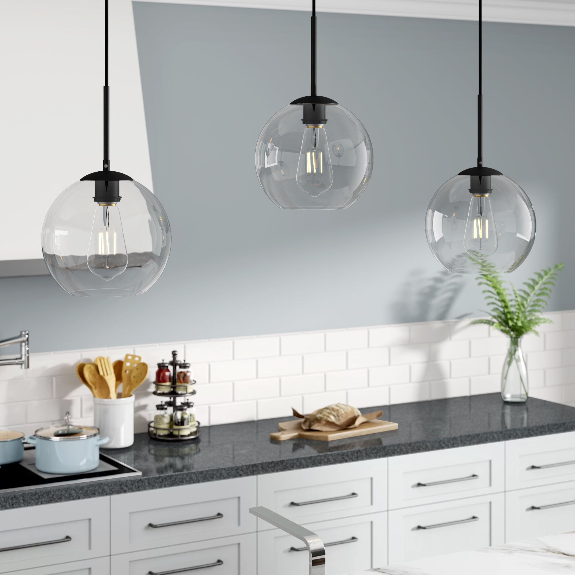 30+ Three pendant kitchen light information
