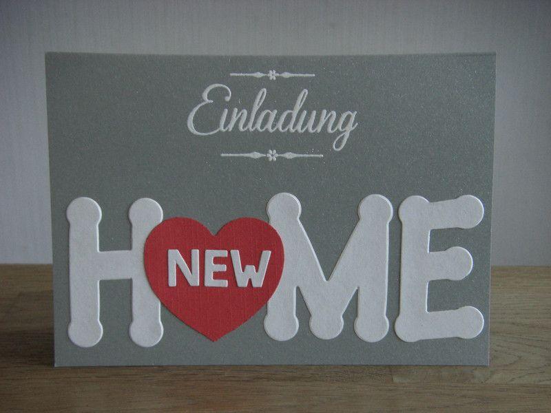 Einladungen - Einladung Einweihung Party Wohnung Haus new Home - ein ...