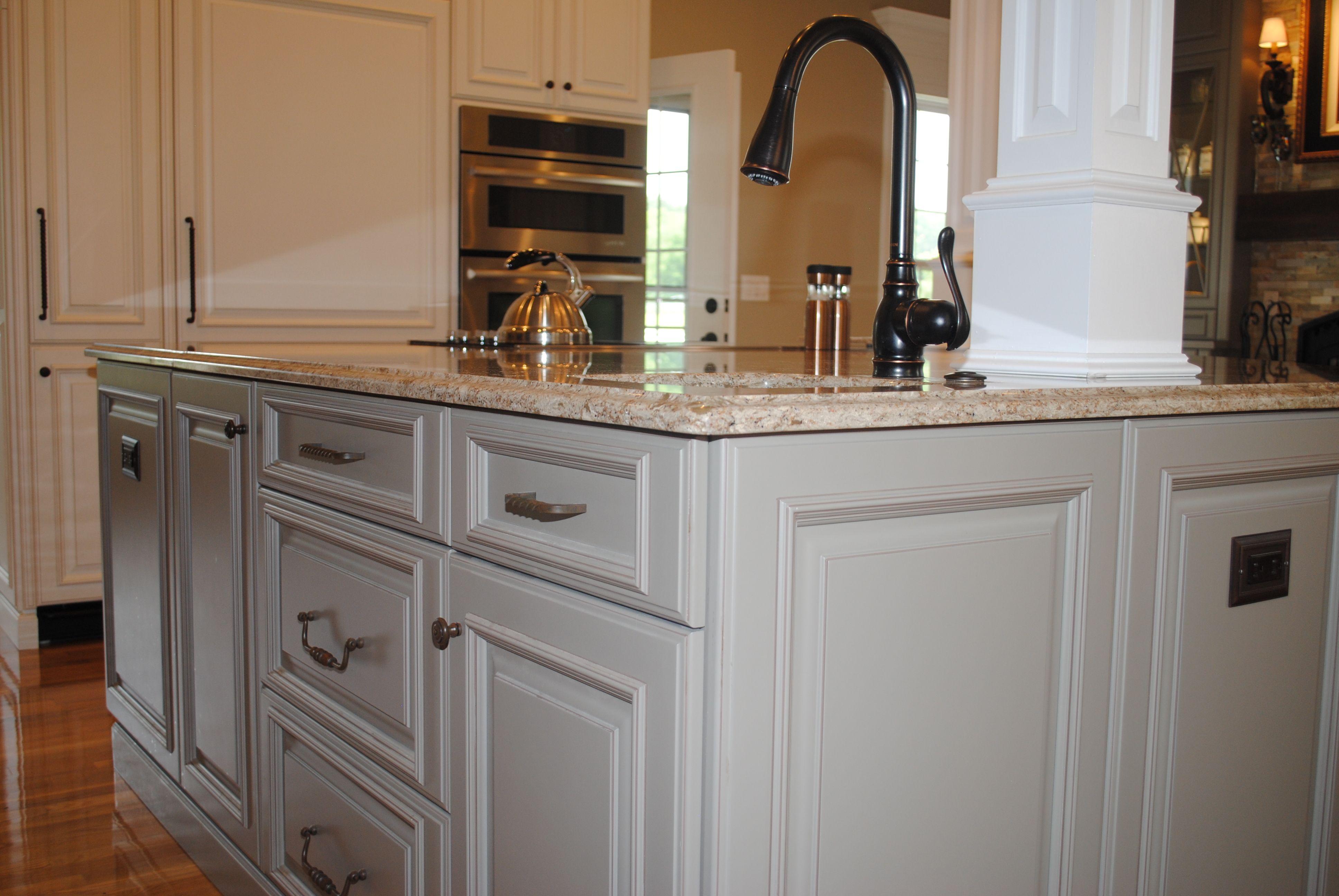 Cabinets Plus Design Glenn Kitchen Smithport Cabinetry Island