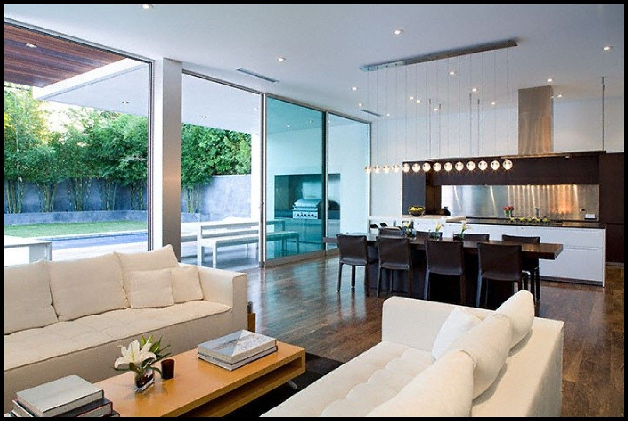 Interesting Decorating Rectangular Living Room With