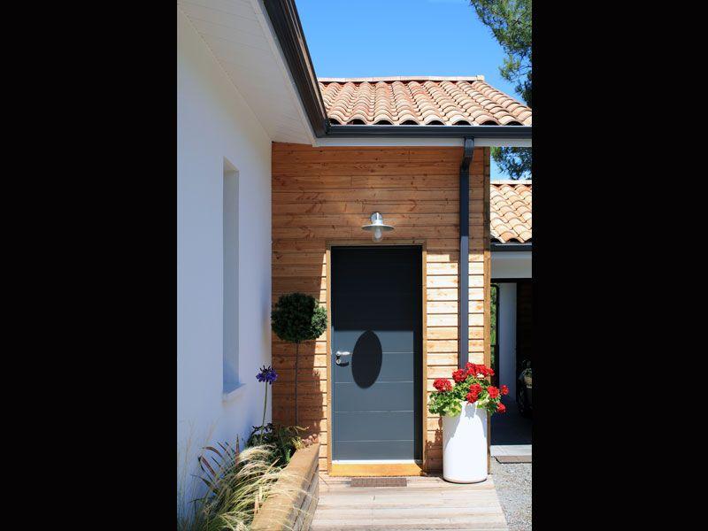 Une jolie maison landaise et contemporaine : entrée | Maisons ...