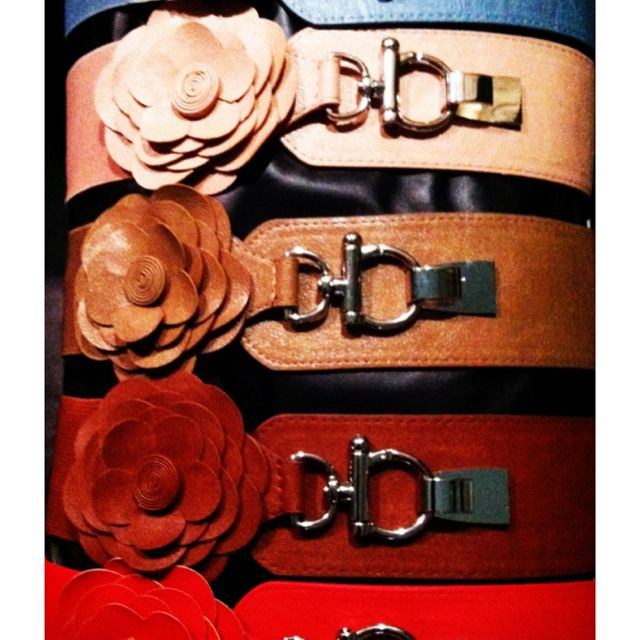 New belts.