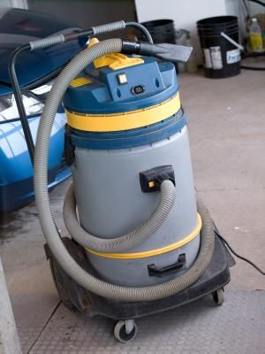 Cleaning Concrete Floors