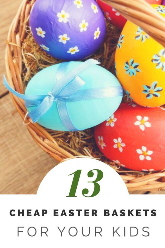 13 cheap easter baskets for kids easter baskets cheap easter 13 cheap easter baskets for kids negle Images
