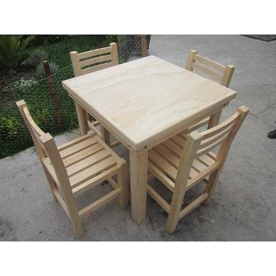 Sillas de madera para restaurante uso rudo a 175 hogar y for Bancas de madera para jardin