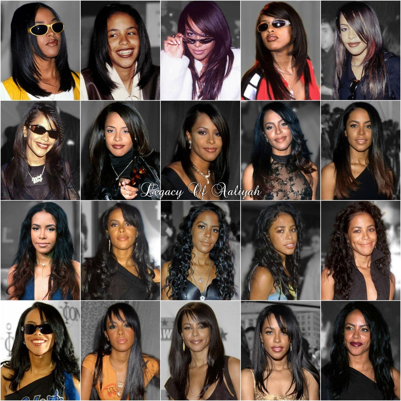 Aaliyahalways Aaliyah S Hairstyle Always On Point Aaliyah Aaliyah Haughton Rip Aaliyah