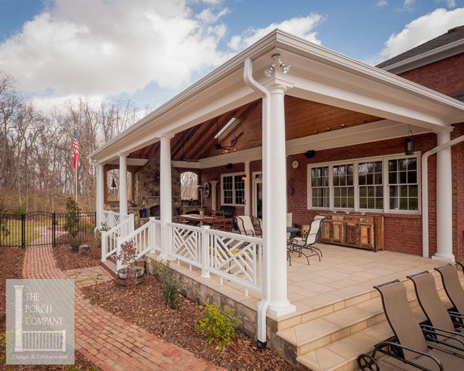 Front Porch Construction Details - Stunning Befores and Afters ...