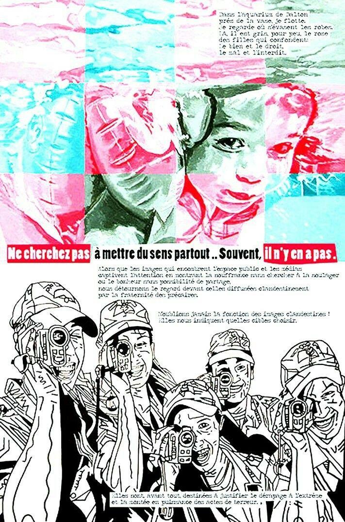 Bazooka est un groupe de graphistes français militants de 1974 à 1978 qui comprenait ces membres : Kiki Picasso, Loulou Picasso, Olivia Clavel, Lulu Larsen, Bernard Vidal dit Bananar, Jean Rouzaud, Ti5 Dur. Ils ont travaillé frénétiquement leur esthétique punk entre 1974 et 1980 pour des revues bandes-dessinées, dessins, illustrations de journaux