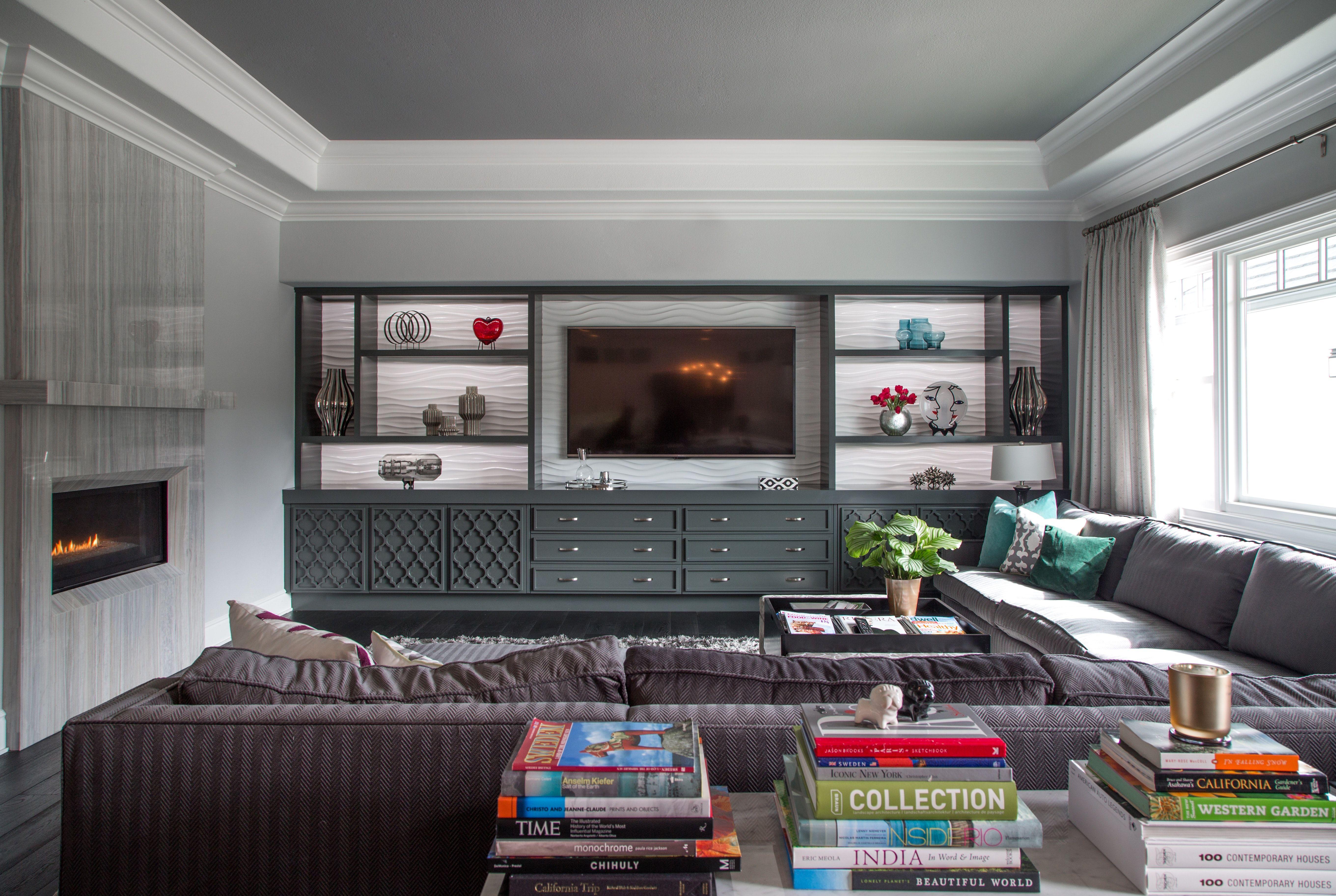 modern family room design