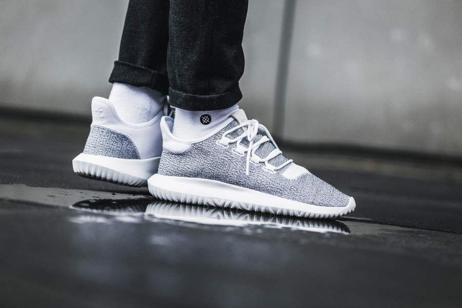 purchase cheap c2bcd 31bf5 ADIDAS TUBULAR SHADOW WHITE & GREY ONE SNEAKERS IN ALL SIZES ...