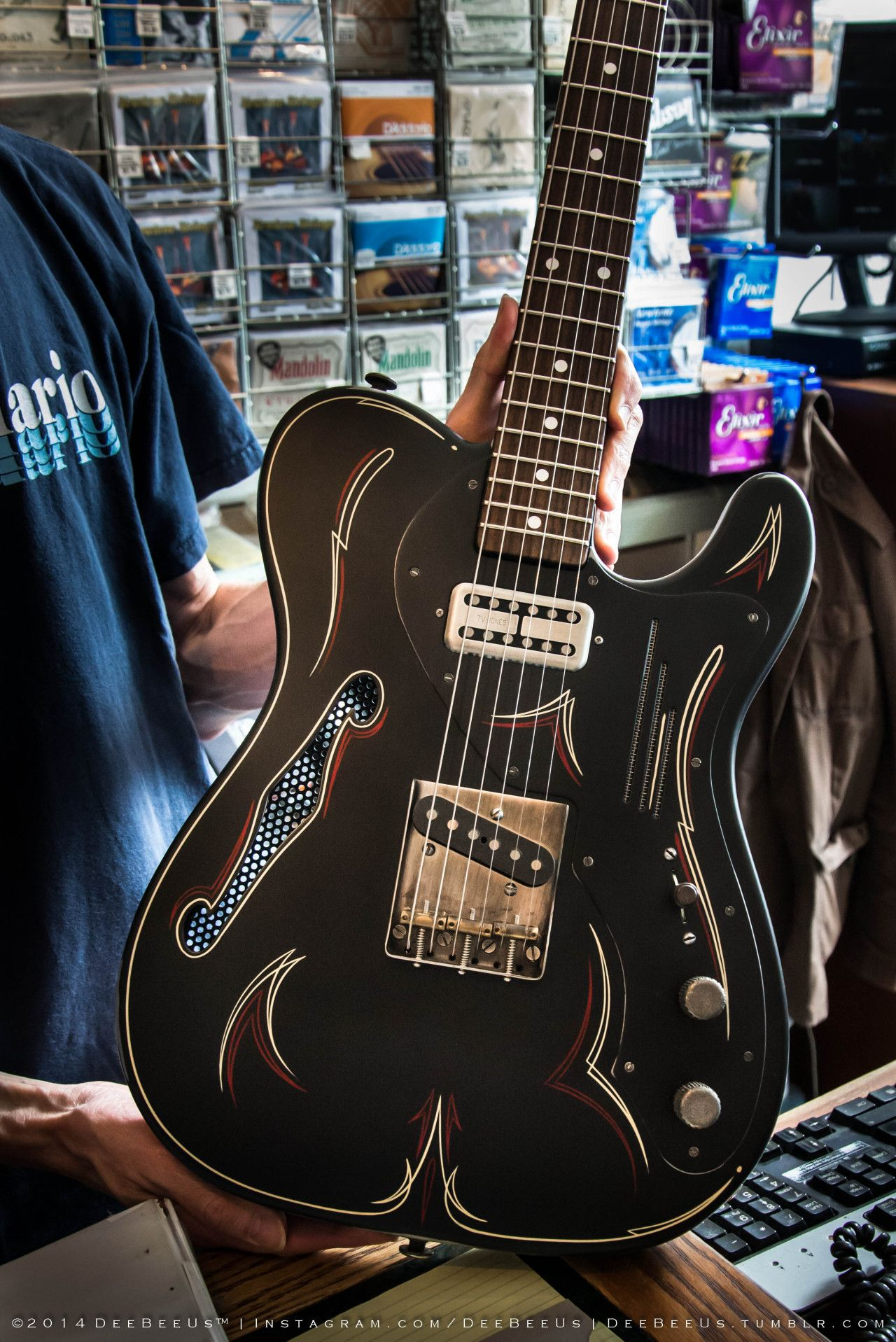 Here S A Quickie From My Visit To The Twelfth Fret Toronto Yesterday More Photos To Follow Duh D I Have Always Th Guitar Guitar Collection Fender Guitars