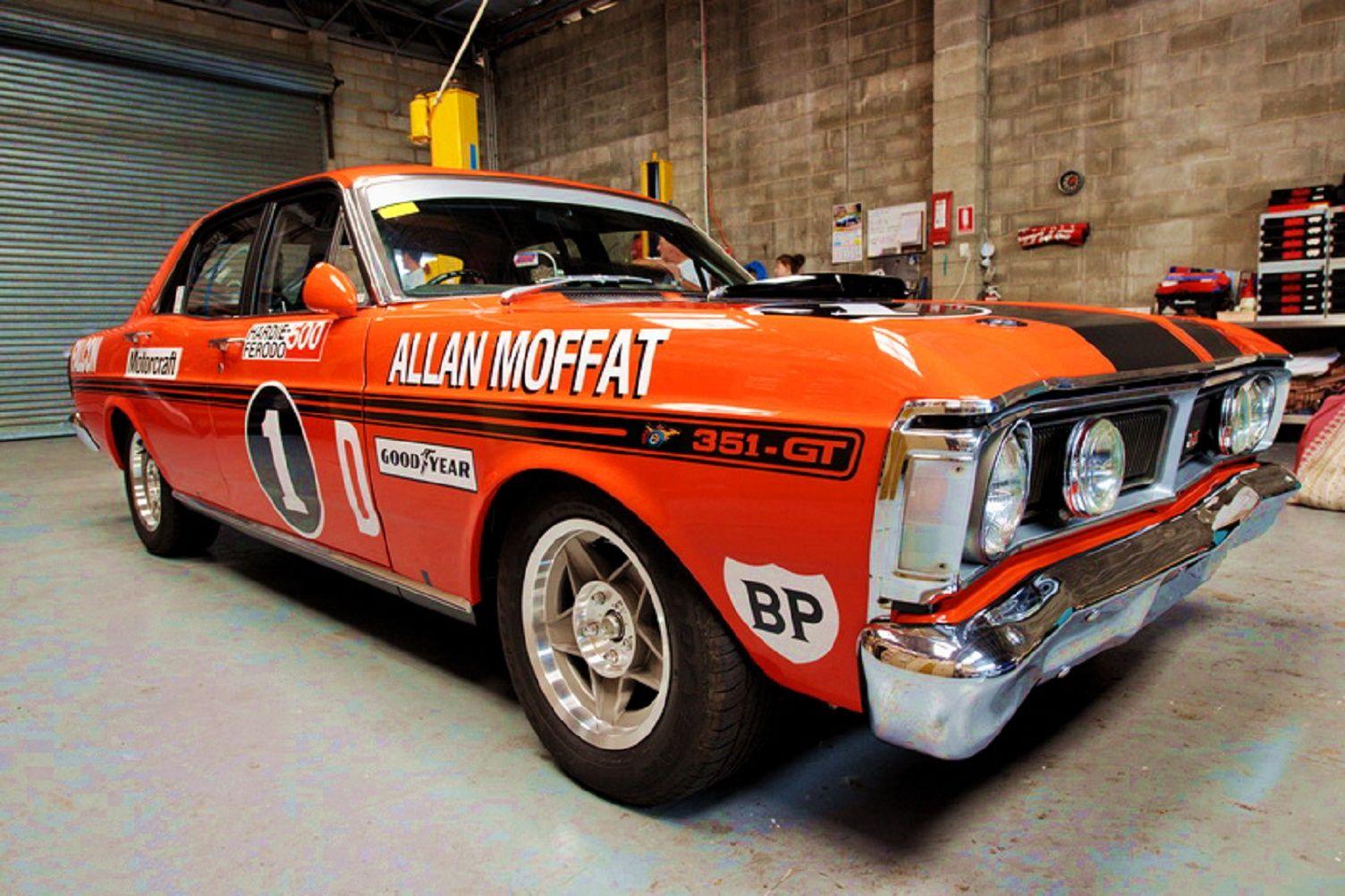 Allan Moffat S Xy Gtho Phase Iii Vintage Muscle Cars Australian Cars Touring Car Racing