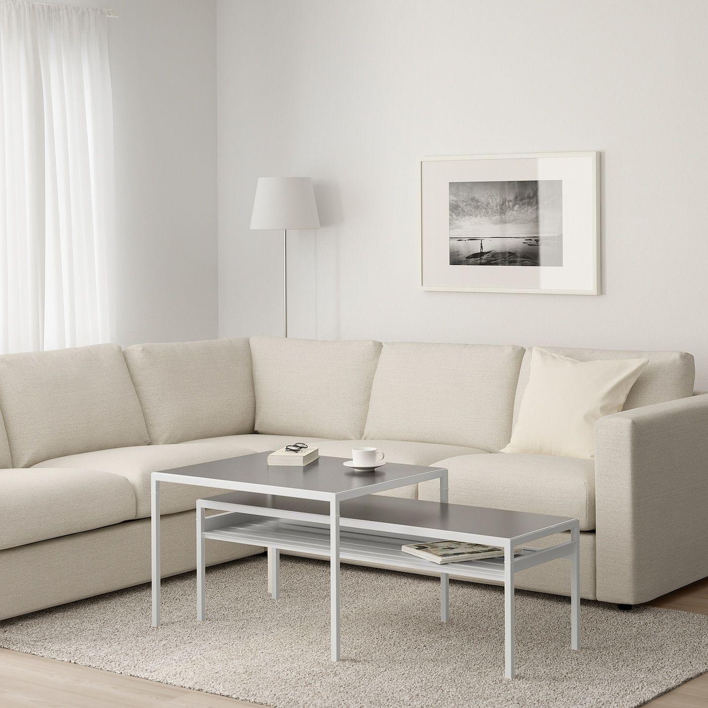 Nyboda Coffee Table W Reversible Table Top White Gray Ikea Coffee Table Calm Living Room Ikea Lack Coffee Table [ 1000 x 1000 Pixel ]