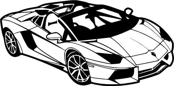 Lamborghini Vinyl Decal Ftm 271 Free Vector Graphics Car Vector