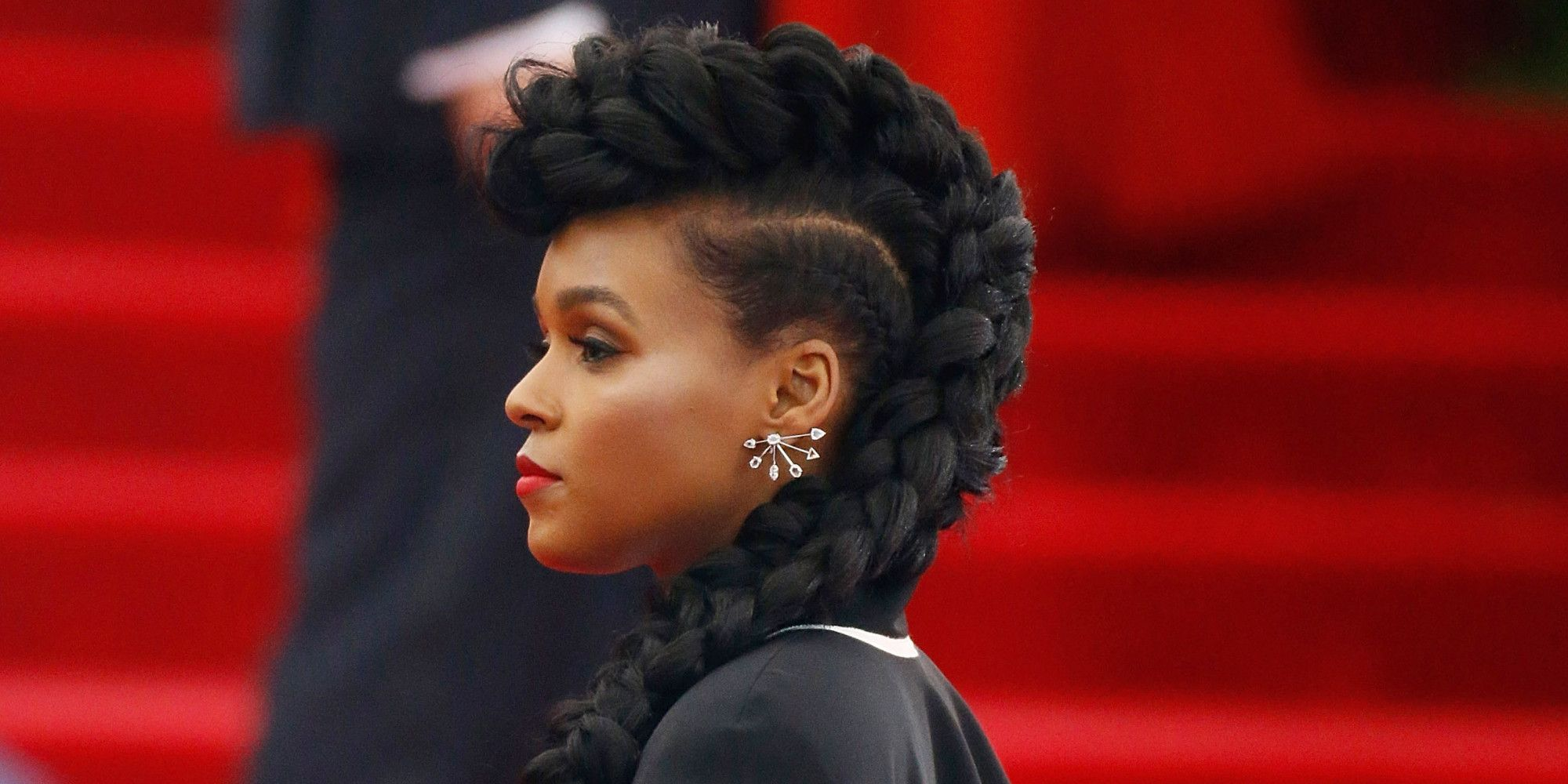 mohawk hairstyles for black women mohawk pinterest