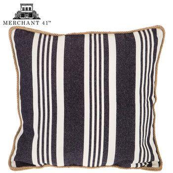 Denim White Stripe Pillow Cover NCD Sorensen Pinterest Mesmerizing Hobby Lobby Decorative Pillows
