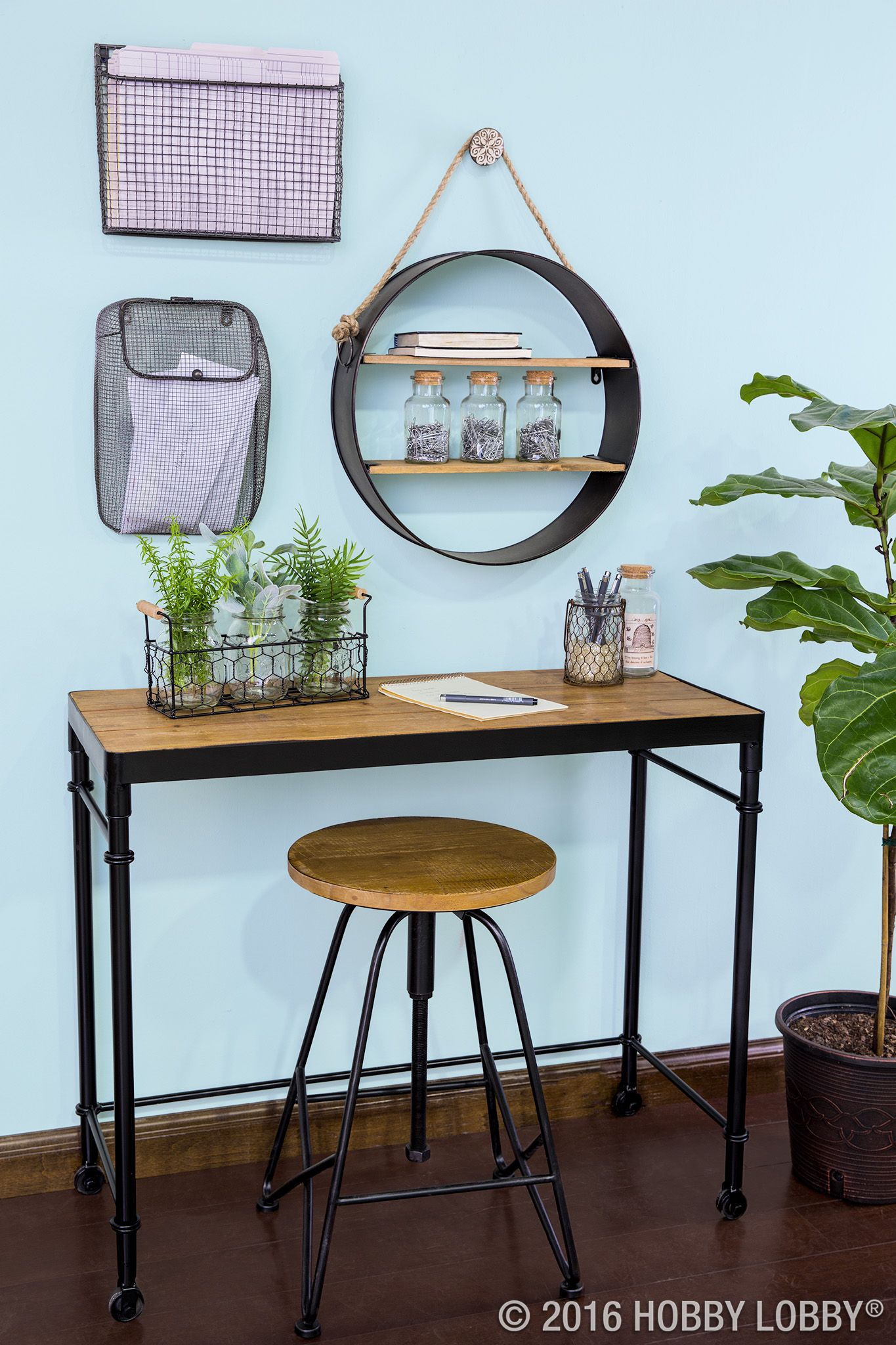 When your storage solutions double as fabulous focal pieces, you know you're doing it right!