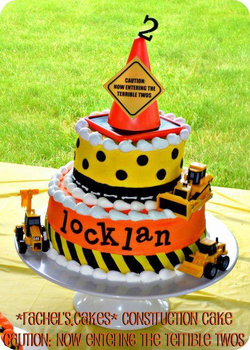 Terrible Twos Birthday Cakes