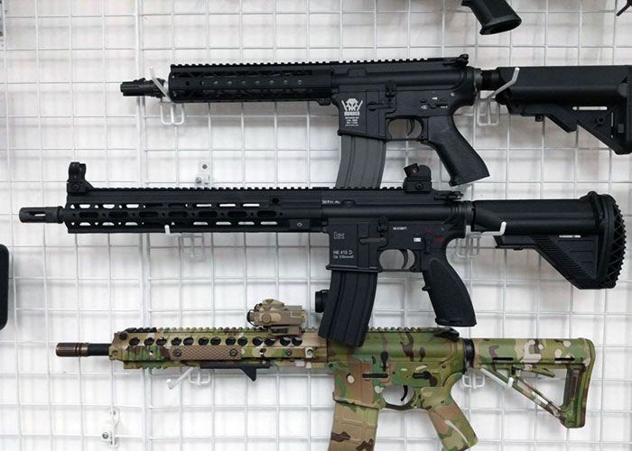 DYTAC G-Style SMR Rails In Stock | Airsoft ideas | Airsoft