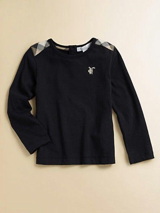 black burberry shirt kids