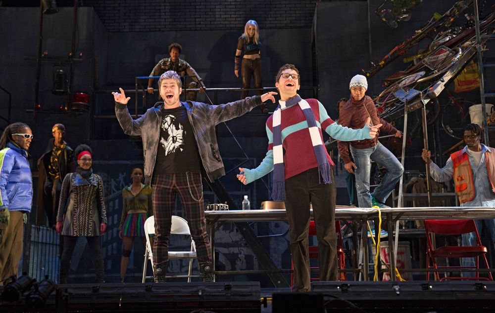 A Look at the New Cast of the 20th Anniversary Rent Tour - #Deri'Andra #Farine #Javon #King #Logan #Marks #Musical #National #photos #Playbill #Rent #Theatre #Tour #Tucker