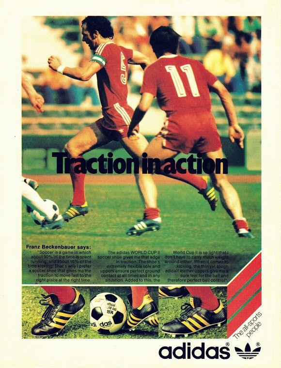 Franz Beckenbauer e l'Adidas in uno spot vintage   Adidas