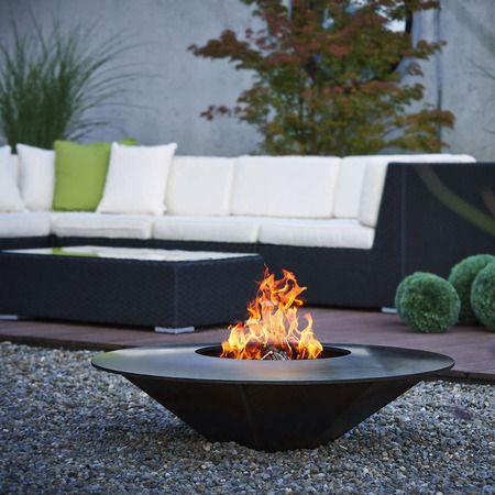 Feuerstelle, Garten, Terasse, Loungesofa