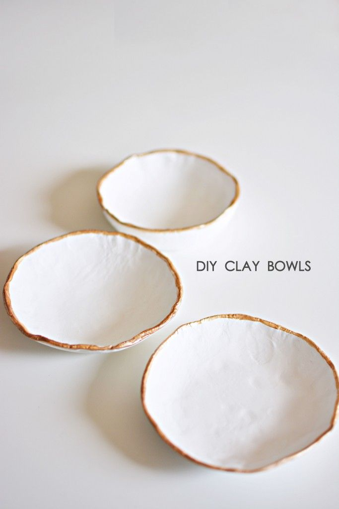 Diy easy clay bowls do it yourself pinterest clay bowl clay diy easy clay bowls solutioingenieria Images