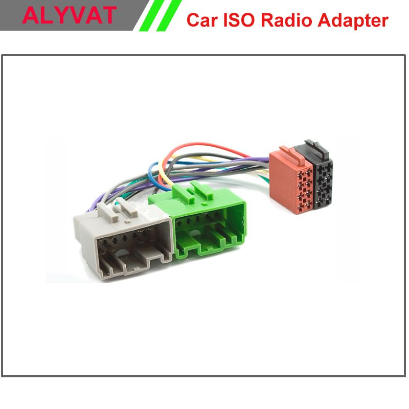 car stereo iso wiring harness for volvo s40 v40 s70 v70 s60 s80 auto radio  adapter connector power cable adaptor plug wire