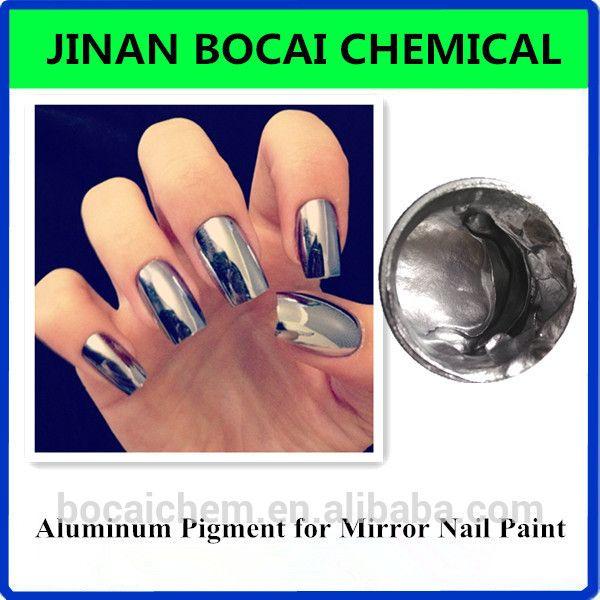 Source Chrome Aluminum Pigment Vacuum Metallized Pigments For Mirror Nail Polish Pigment On M Alibaba Com Mirror Nail Polish Mirror Nails Nail Paint