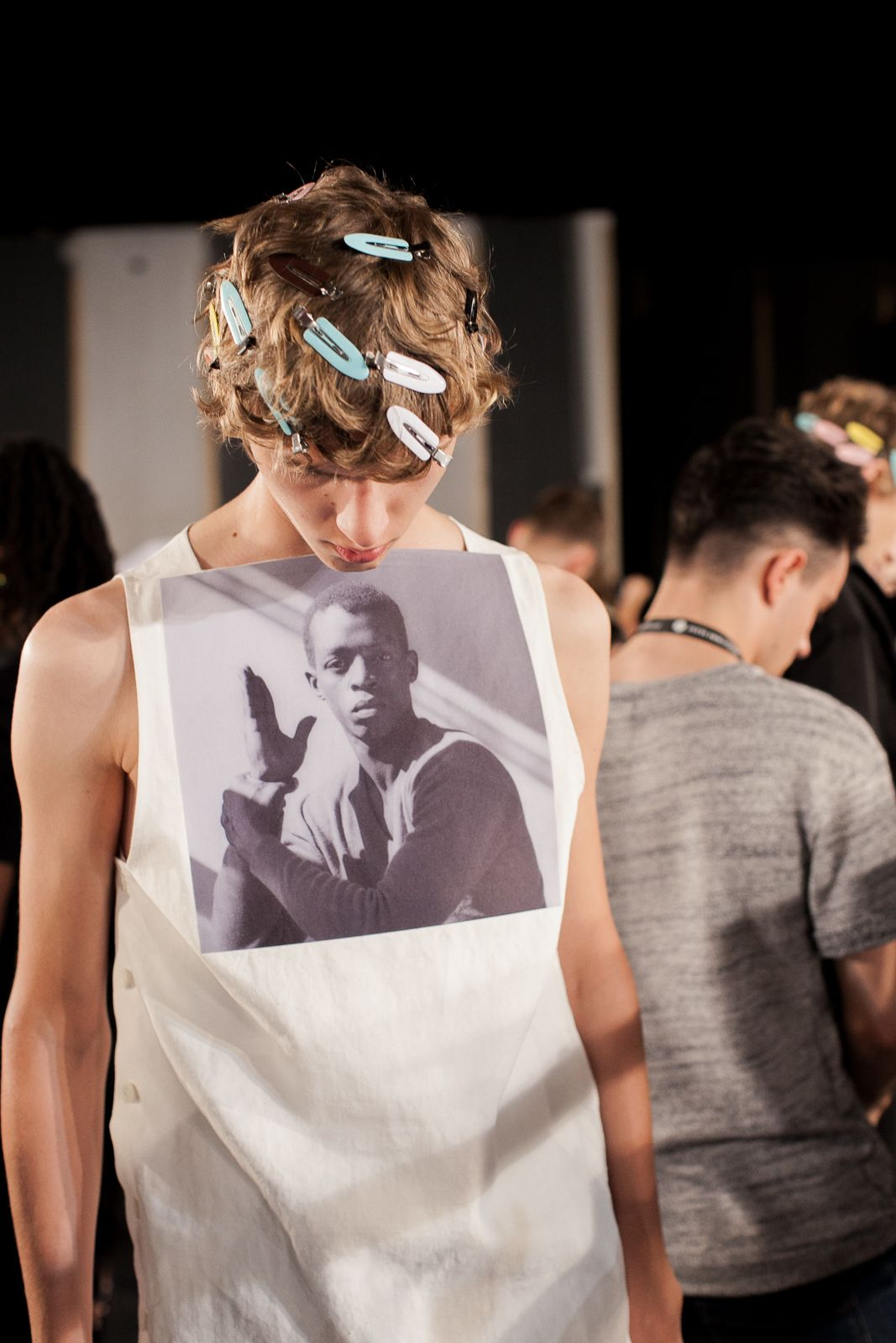 Raf Simons Returns to Pitti Uomo with His Eponymous Men's Wear Collection and Plenty of Male Models - -Wmag
