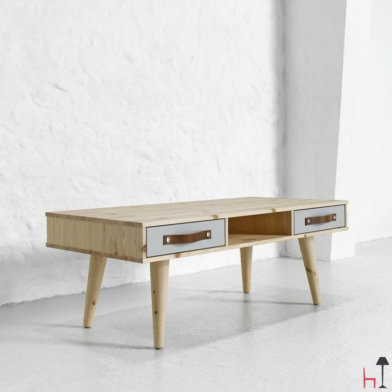 9 Pine Coffee Table With Drawers Pictures