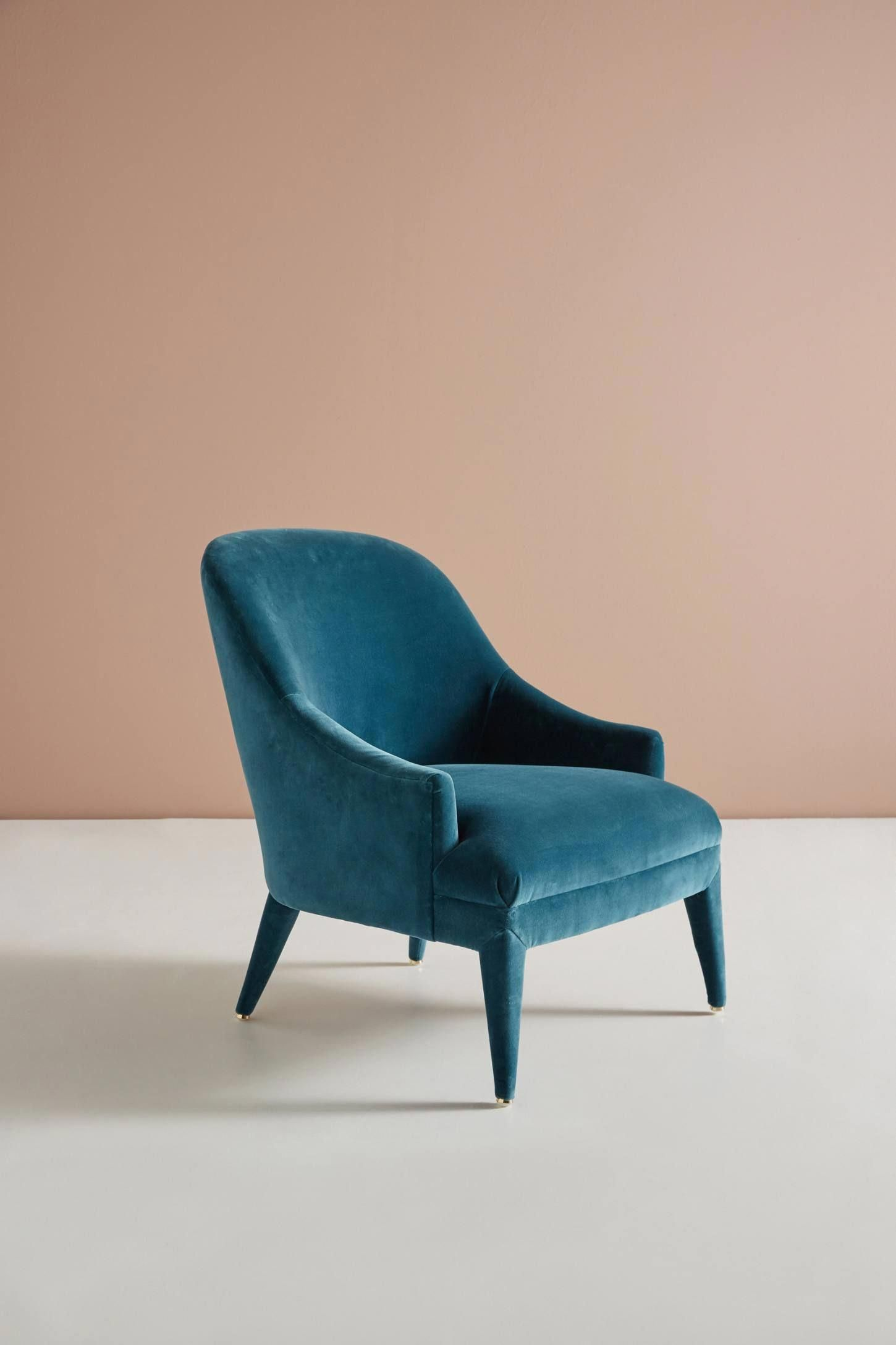 Amelia Accent Chair Anthropologie Chairs Comfortable Accent Chairs Comfy Accent Chairs Accent Chairs For Living Room