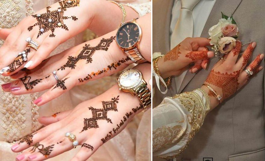 نقوش حناء للعروس Hand Henna Henna Hand Tattoo Hand Tattoos