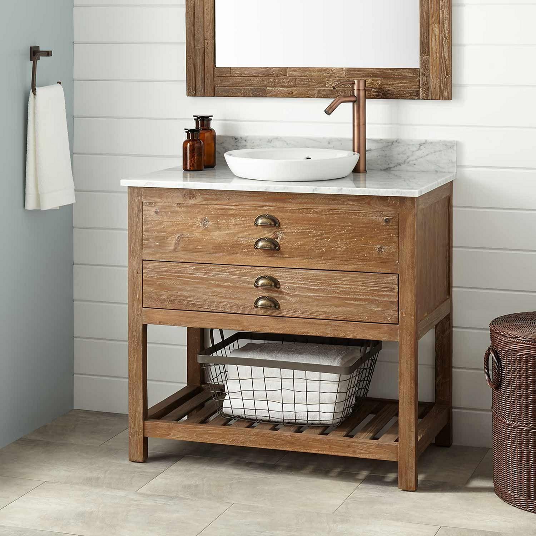 15 Best Wood Bathroom Vanities Ideas For Those Who Love Uniquess Bathroomdesign Ba Reclaimed Wood Bathroom Vanity Wood Bathroom Vanity Reclaimed Wood Vanity