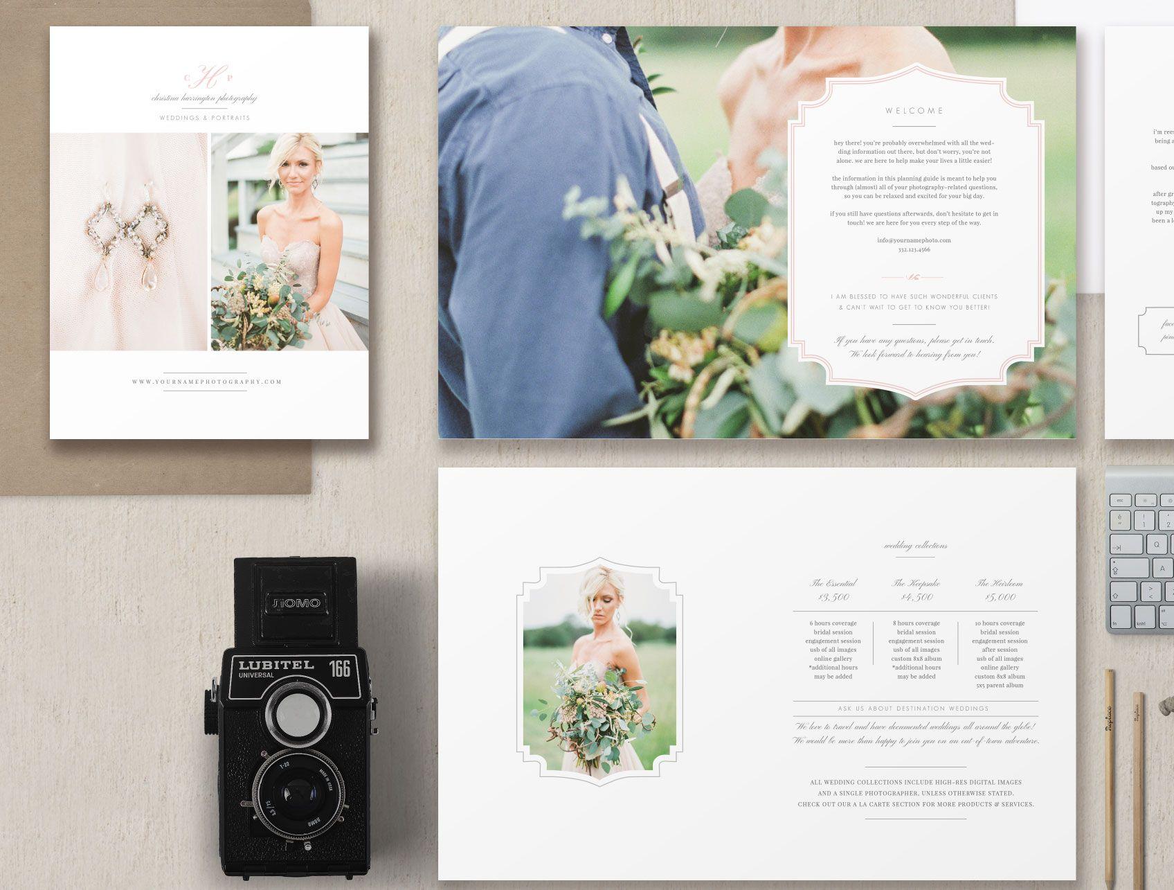 Wedding Photography Magazine Template – Eucalyptus | Photography ...