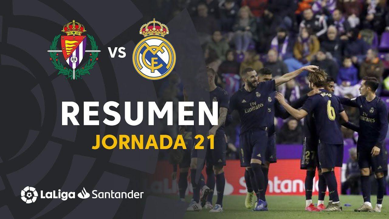 Resumen de Real Valladolid vs Real Madrid (01) en 2020