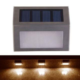 Applique Murale Solaire Economie D\'Energie Lampe Jardin Escalier ...