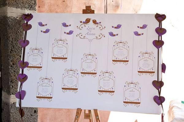 Tableau De Mariage 3 Idee Originali Letteraf Tableau Matrimonio Matrimonio Idee