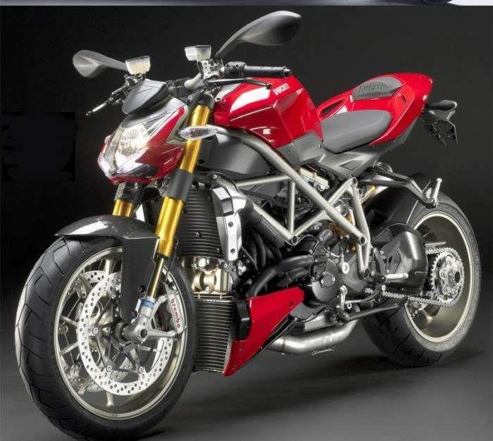Black Rider Ducati Streetfighter Desktop