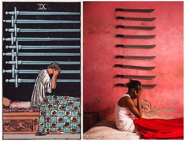 Las cartas del tarot toman vida en las calles de Haití   The Creators Project