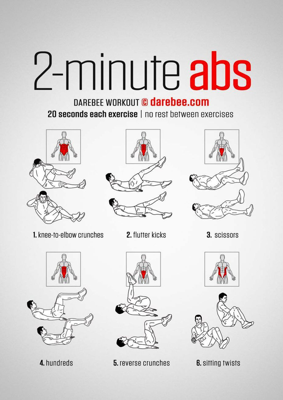 Abs Workout At Home Calisthenics until Abdominal Exercises