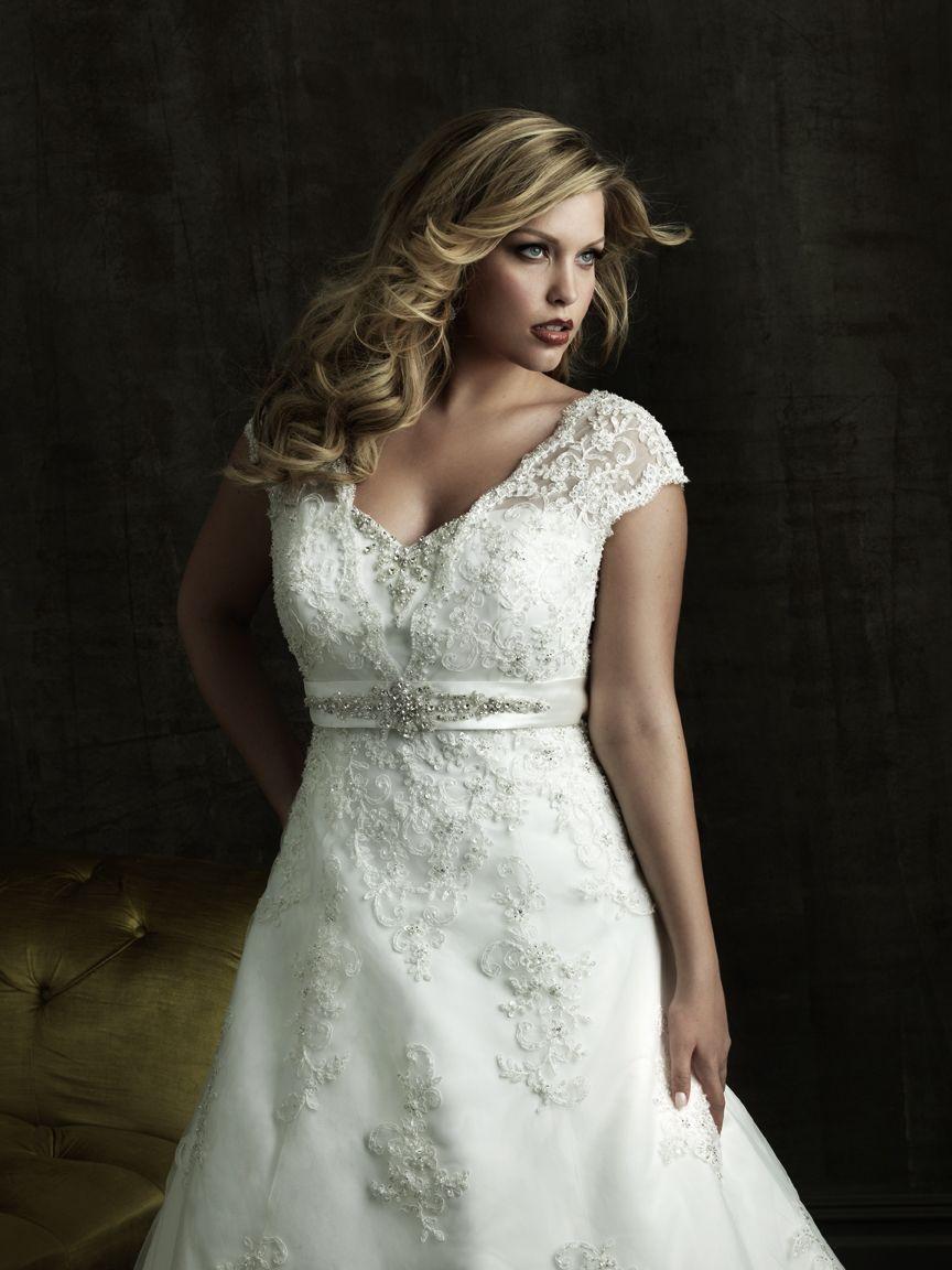 Aliexpress buy gorgeous lace cap sleeve wedding dress