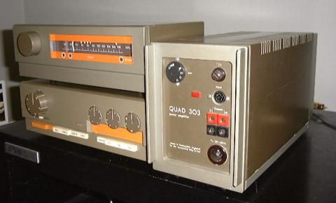 QUAD FM3 tuner and 33 Pre amplifier and 303 power amplifier