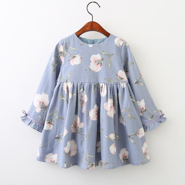 Lia's Petal Sleeve Flowers Dress