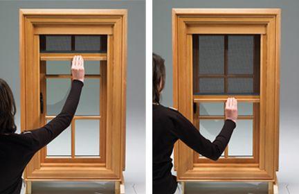 Kolbe Windows Screens Retractable Screen Retractable Screen Porch Window Screens