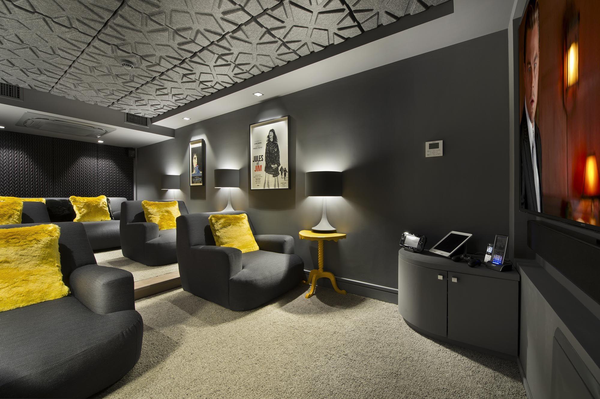 Chalet Cinema | Courchevel | Interior Design Project, Luxury ... on surround sound interior design, blog interior design, cinema home furniture, cinema sofa,