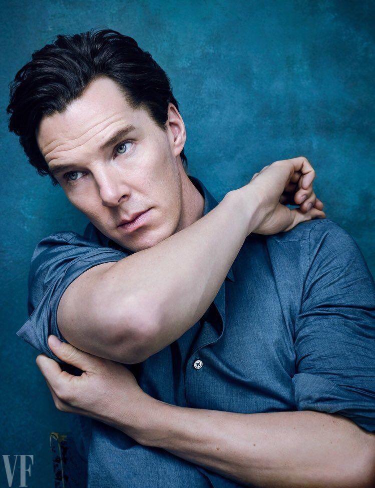 Benedict Cumberbatch magazine cover shoot