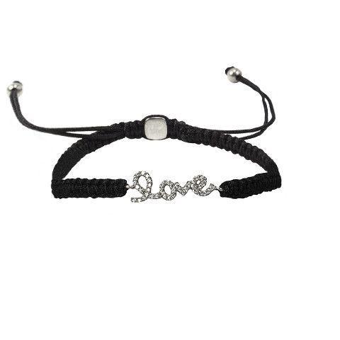 """Adjustable """"Love"""" Bracelet"""